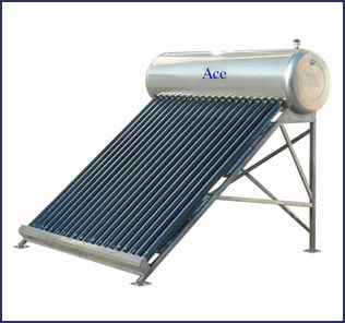 Evacuated Tube Collectors (ETC) based Solar Water Heater